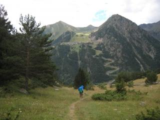 Camí de Percanela, Arinsal (Andorra)