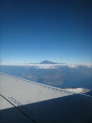 Teide from the plane