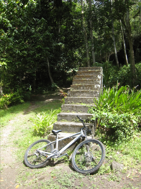 """""""my"""" bike with the """"stairway to hell"""""""